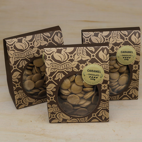 Caramel Chocolate Buds 100g