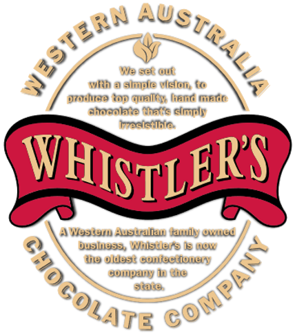 Whistler's Chocolate logo