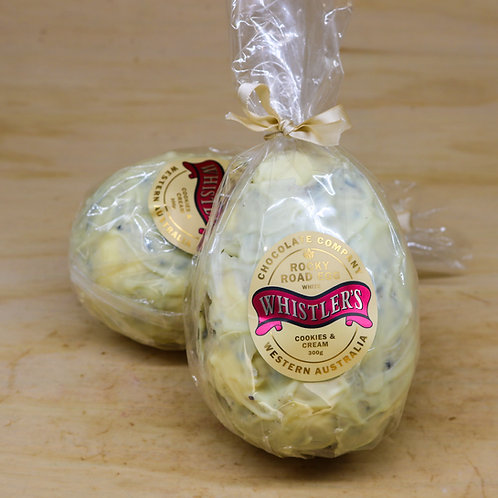 White Chocolate Cookies And Cream Rocky Road Egg 300g