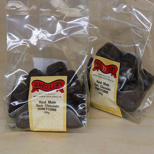 Dark Chocolate Handmade Honeycomb 200g