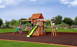 playset assembly and moving