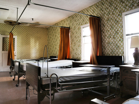Rockhaven Sanitarium - A History in Dang er