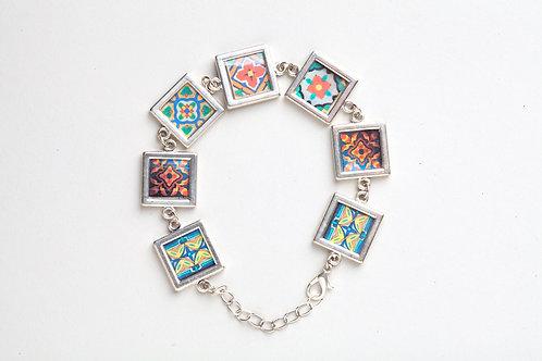 Vintage Tile Bracelet