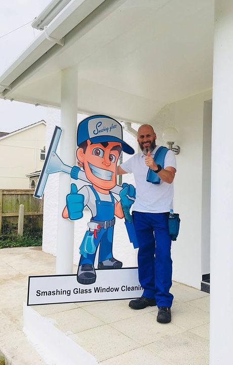 Smashing Glass window cleaning