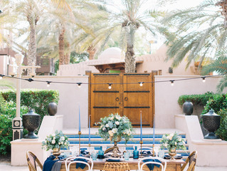 Accents of BLUE - Styled Shoot