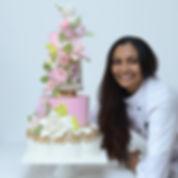 Wedding cake designer Gayu Lewis