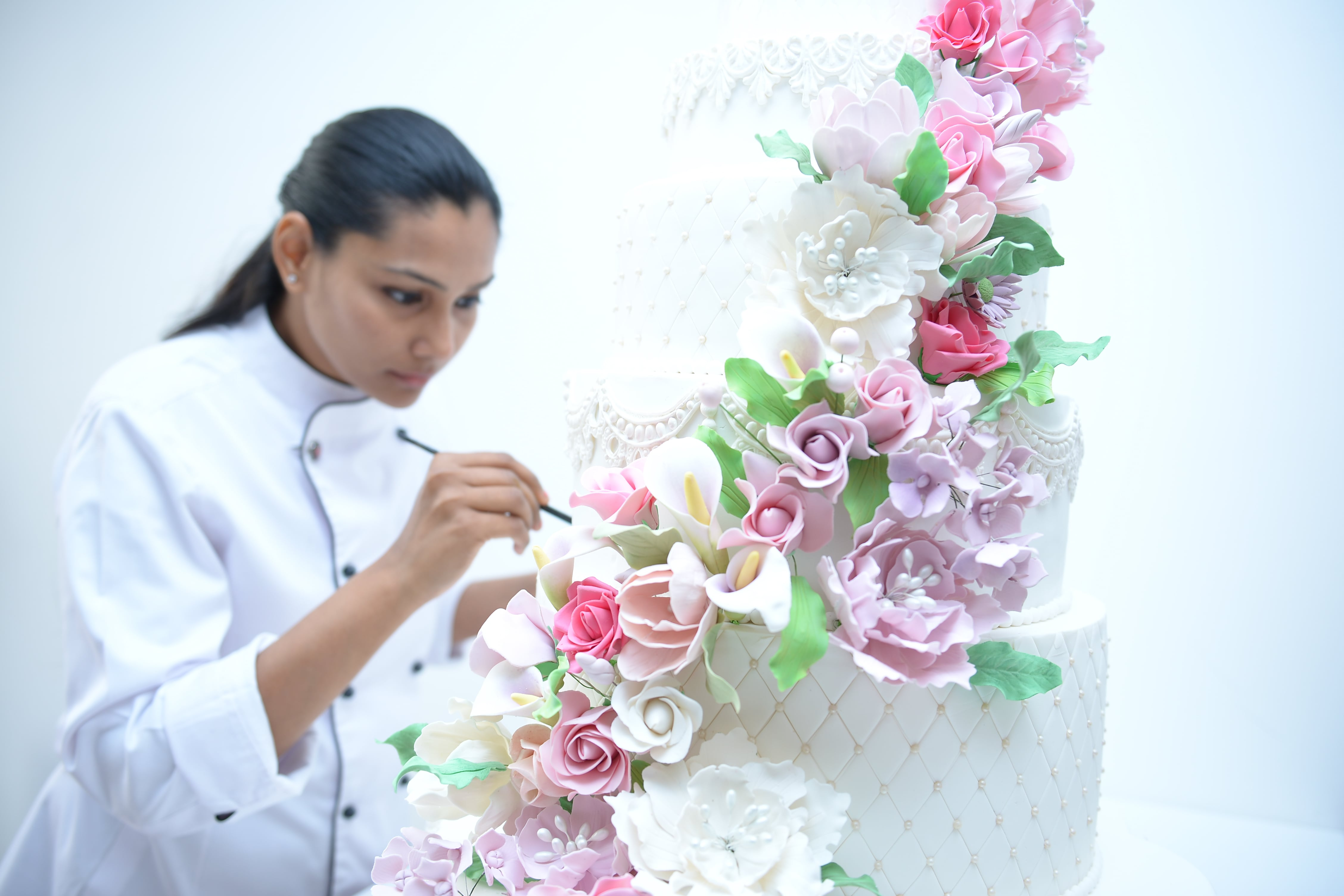 Cake Artist at work