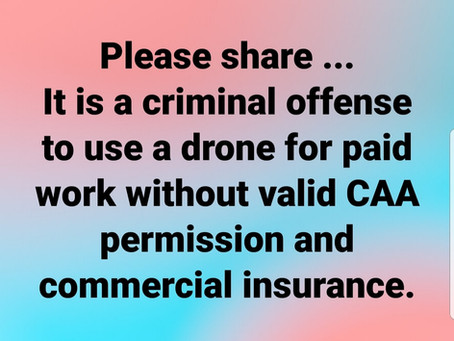 Drone Cheater !