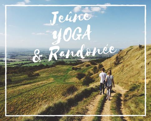 Stages de jeûnes, randonnées et yoga