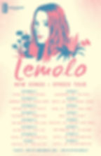 LEMOLO NEW SONGS AND SPACES TOUR