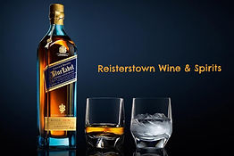 Johnnie Walker blue whisky