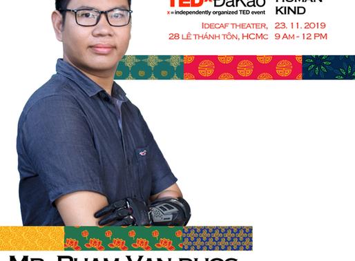 """TedxDakao: """"Người Kiến Tạo Sự Đổi Mới Từ Những Điều Khác Biệt"""""""