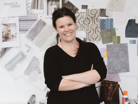 Kathryn Fall, founder of Maresca Textiles tells us about her creative living - 15 questions/answers