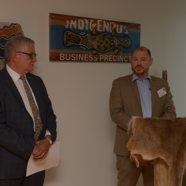 Opening Indigenous Business Precinct 21s