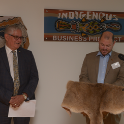 Opening Indigenous Business Precinct 21s