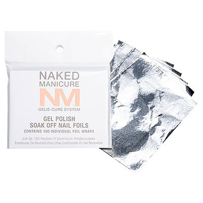 Gelie-Cure Soak Off Nail Foils 100 Count