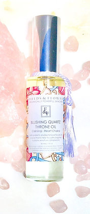 Blushing Quartz Throne Oil - Heart Chakra - Calming - Sensitive to All Skin