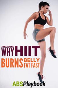sprints et sauts en hauteur font partie d'un entraînement HIIT pour la perte de graisse