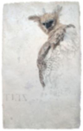 Die_Harpyie(ZEIT),_76x46,5cm,_Öl,_Bleist