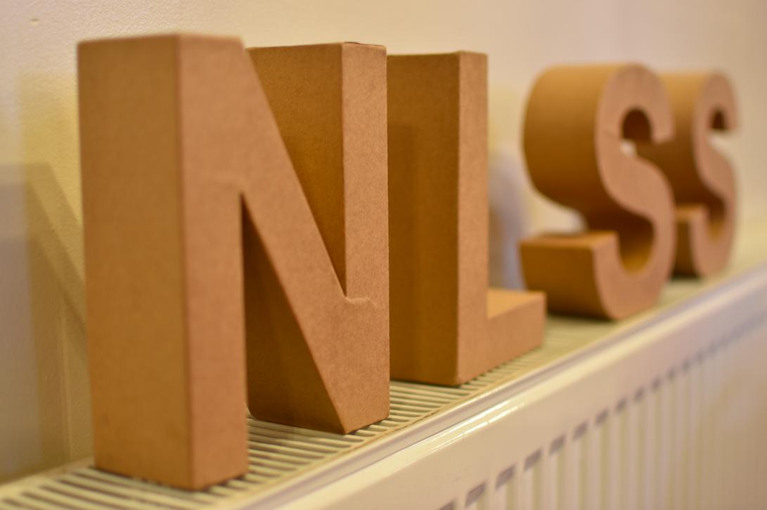 When NLSS font becomes 3D.