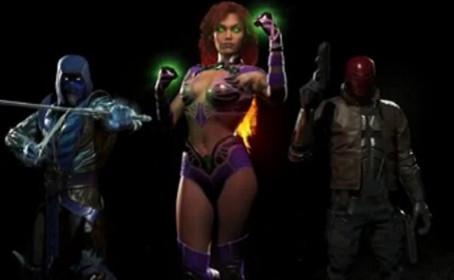 Sub-Zero, Red Hood et Starfire débarquent dans Injustice 2