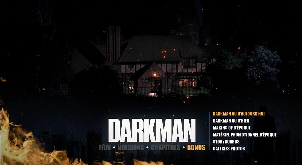 Test sortie Darkman menu bonus BR 1