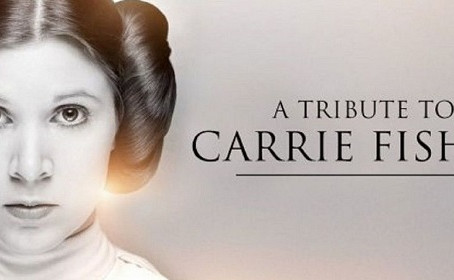 Star Wars rend un vibrant hommage à Carrie Fisher