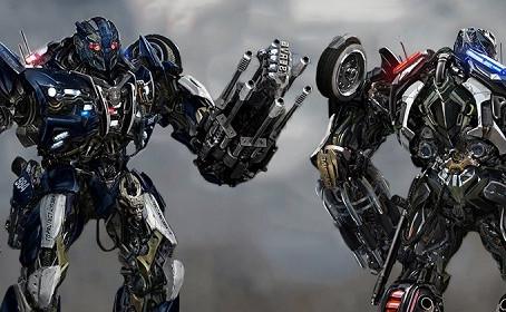 De nouveaux looks pour Barricade et Hound  dans Transformers 5