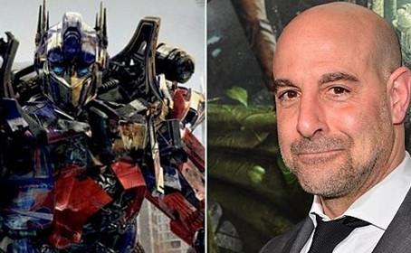 Stanley Tucci au générique de Transformers 5