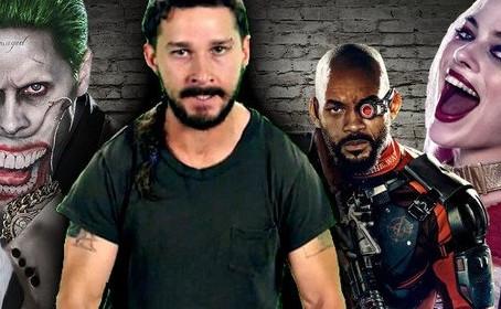 La Warner a mis son veto à Shia LaBeouf dans Suicide Squad