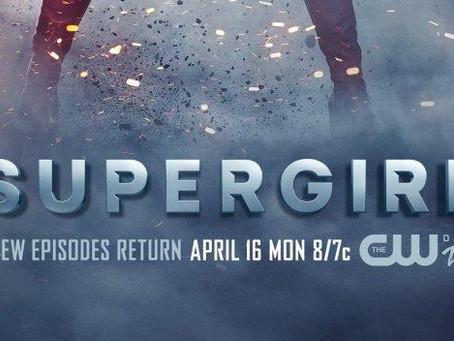 Une affiche pour fêter le retour de Supergirl