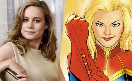 Brie Larson se prépare pour incarner Captain Marvel au ciné
