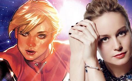 Brie Larson a choisi Captain Marvel pour une bonne raison