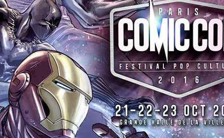 L'affiche pour la Comic Con Paris 2016