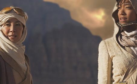 Un commandant et son second sur cette image de Star Trek Discovery
