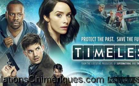 Review de l'épisode 1x01 de la série Timeless