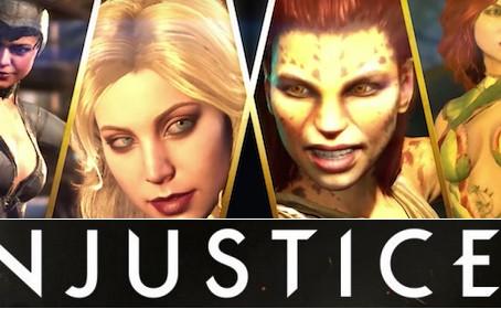 Un nouveau gameplay, 100% féminin, pour Injustice 2