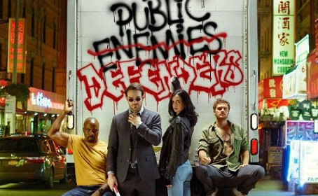 The Defenders prennent la pose pour Entertainment Weekly