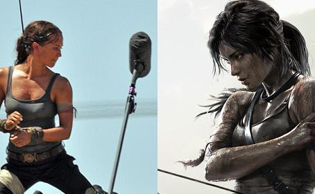 Premières photos d'Alicia Vikander sur le plateau du reboot de Tomb Raider