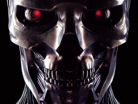 Gros plan sur l'endosquelette du Rev-9 dans Terminator Dark Fate