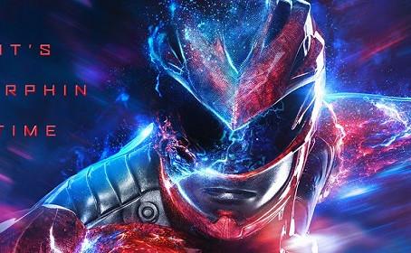 Des affiches personnages qui scintillent pour les Power Rangers