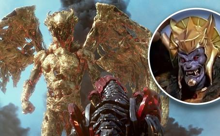 Goldar vs Zords dans une nouvelle photo des Power Rangers
