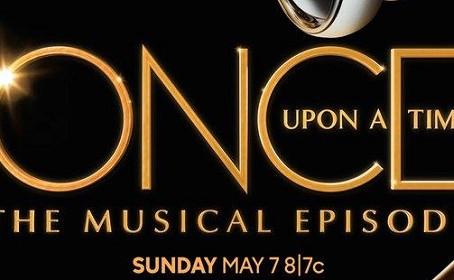 Une affiche pour l'épisode musical d'Once Upon A Time