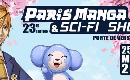 La 23ème Paris Manga & Sci-Fi Show c'est ce week-end !