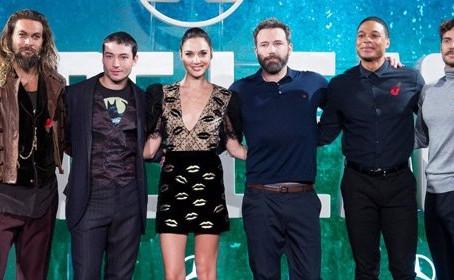 Revivez la conférence de presse des acteurs du film Justice League