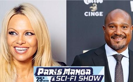 Pamela Anderson et Seth Gilliam à la Paris Manga & Sci-Fi Show #25