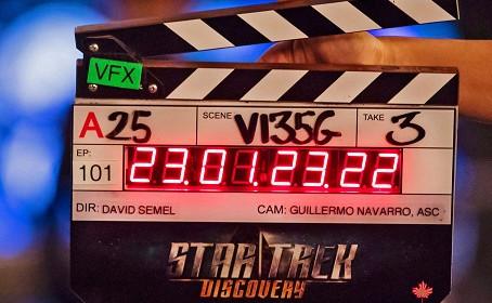 Première vidéo des coulisses de Star Trek Discovery