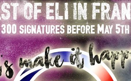 Un concert East Of Eli à Paris le 2 juin 2017 ça vous tente ?