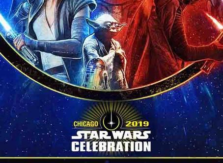 Les forces s'affrontent sur l'affiche de la célébration Star Wars 2019