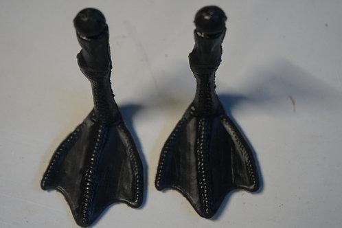 Black feet for 1/2 dozen decoys